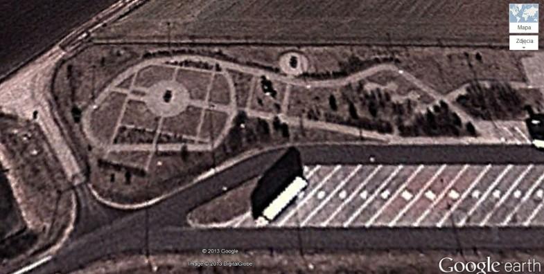 Tereny zieleni MOP Chwałszczyce i Targowa Górka przy A2