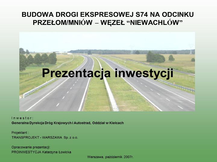 Studiun S74 Mniów-Niewachlów