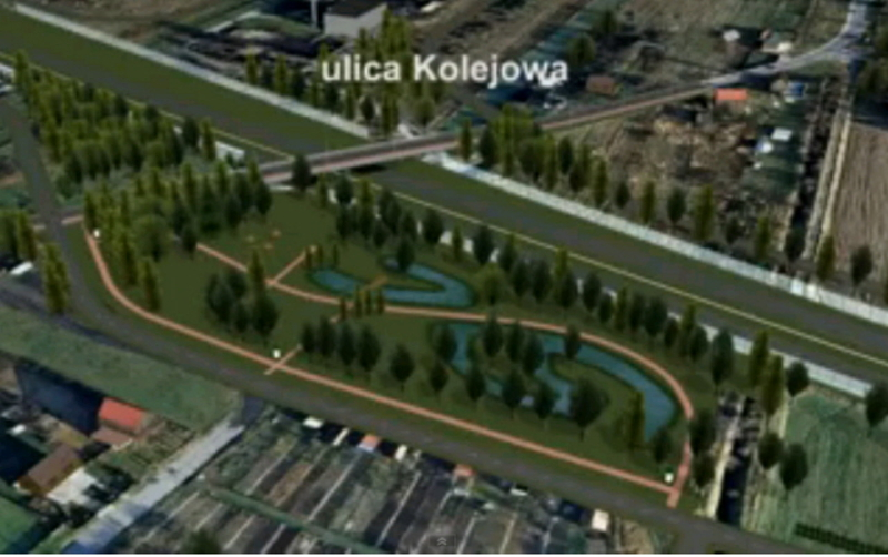 Projekt nowych zieleńców w Szydłowcu
