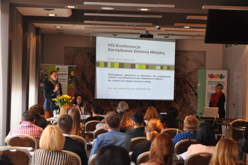 O architekcie krajobrazu na VII Konferencji Zarządzanie zielenią miejską